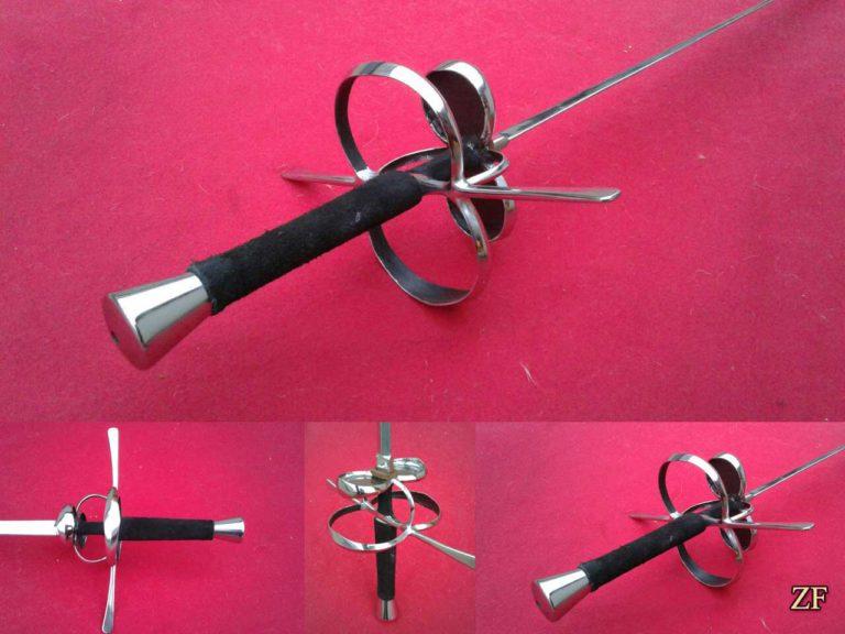 Sword, difficult hilt