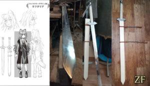 Raftalia sword