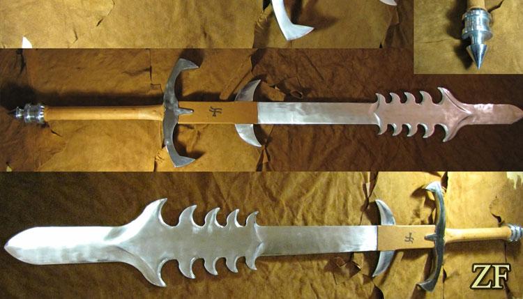 The Grandfather Colossus Blade Diablo II Sword