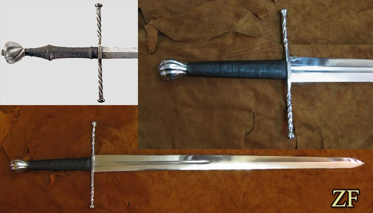Sword from Southern Germany, circa 1520, reconstruction