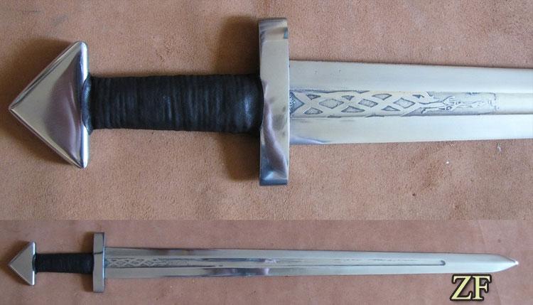 Caroling, viking sword