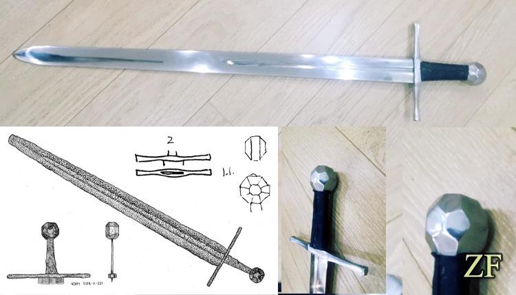 Sword type XIV Oakeshott Museum - Chernivtsi