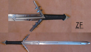 Witcher sword, type B