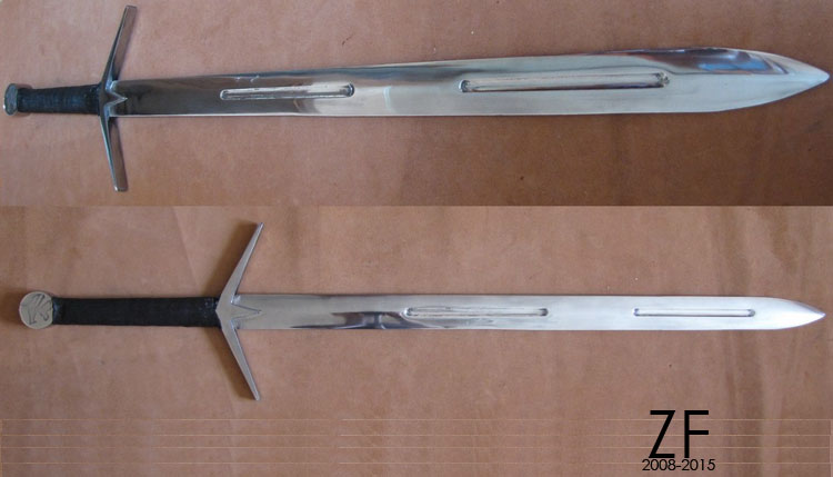 The Witcher's Silver Sword Type G
