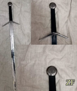 Witcher sword, type K, dural blade