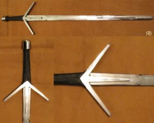 Witcher sword, type V, dural blade